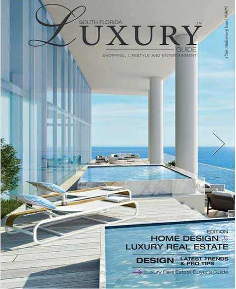 Press Release of AKP Interior at luxary Magazine South Florida