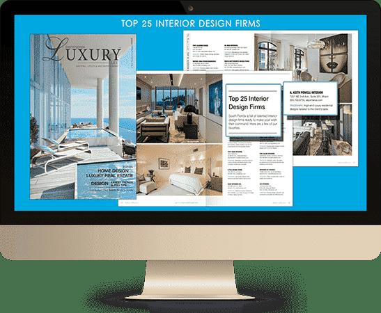 Press Release of Best affordable interior design Miami